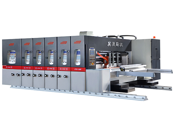 ZYK-2280 AUTOMATIC PRINTER  SLOTTER ROTARY DIE CUTTER