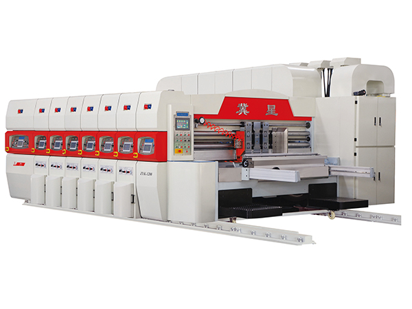 ZYK-1200 SERIES AUTOMATIC VACUUM TRANSFER PRINTER SLOTTER DIE CUTTER