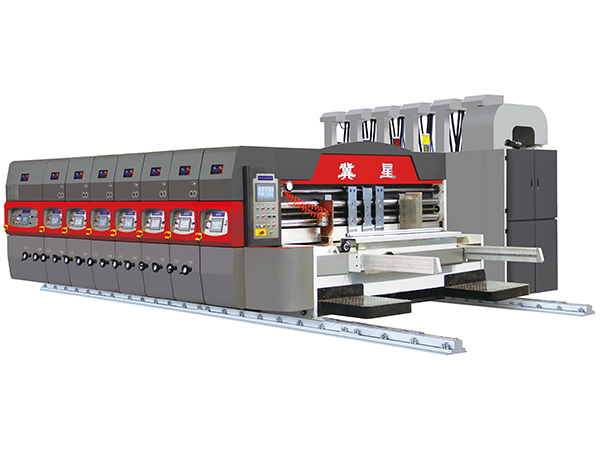 SYK-1200 SERIES AUTOMATIC PRINTER  SLOTTER DIE CUTTER