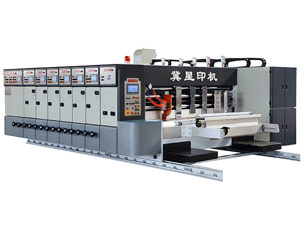 SYK-900 SERIES AUTOMATIC PRINTER SLOTTER DIE CUTTER